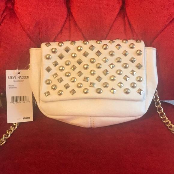f044017cc50 Steve Madden Bags | White Crossbody Bag | Poshmark